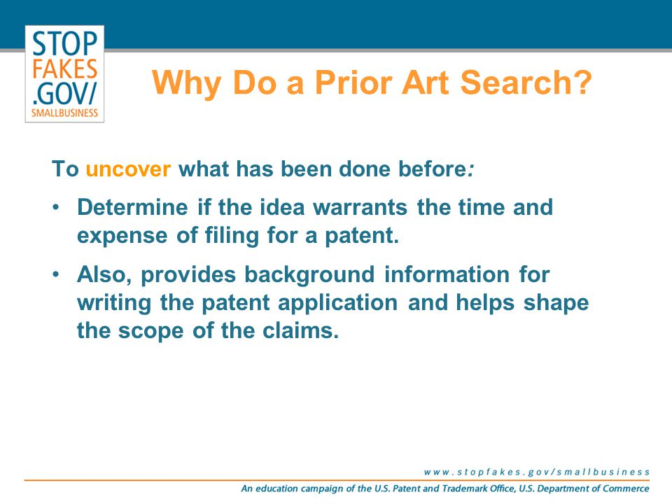 What Constitutes Prior Art Against a U.S. Patent Application.