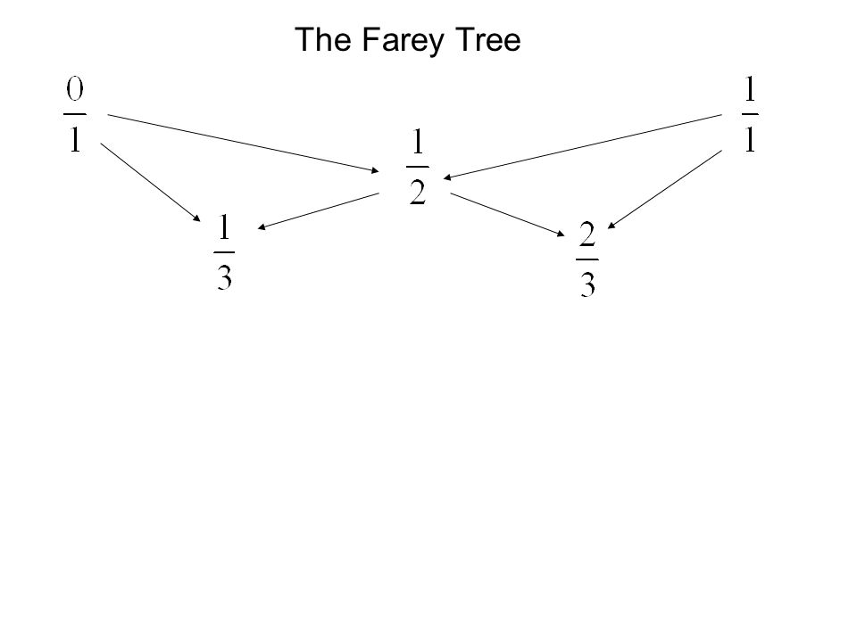 The Farey Tree