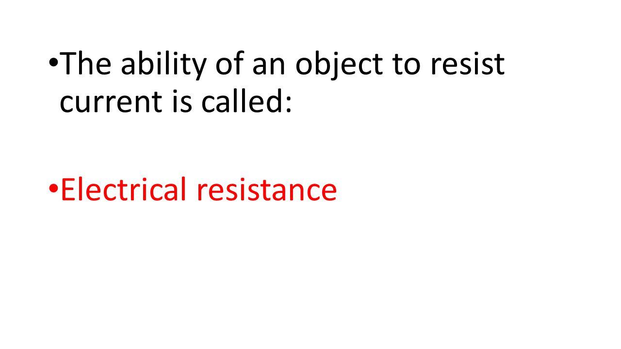 Total Voltage = Total Resistance =