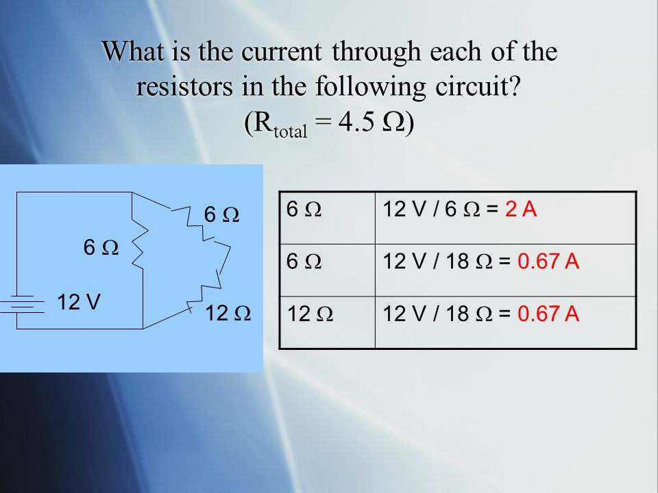 What is the total resistance of this partial circuit 12  6  12  6 