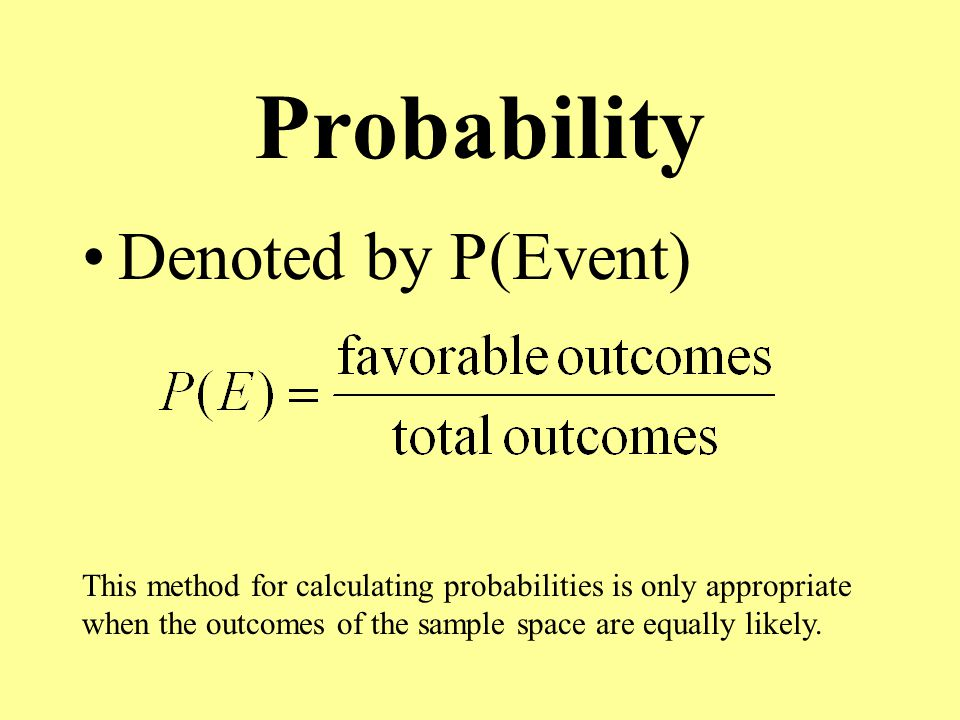 Experimental Probability The relative frequency at which a chance experiment occurs –Flip a fair coin 30 times & get 17 heads
