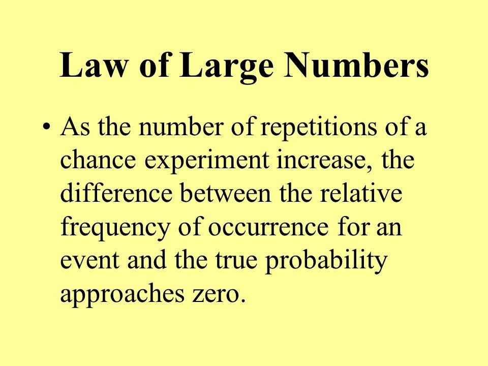 Basic Rules of Probability Rule 1.Legitimate Values For any event E, 0 < P(E) < 1 Rule 2.