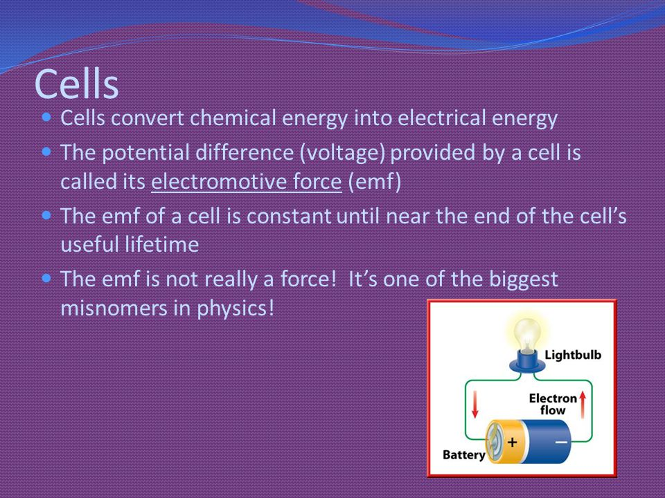 General Rules for Circuits How does the voltage from a cell or battery get dispersed in a circuit: When there is one component.