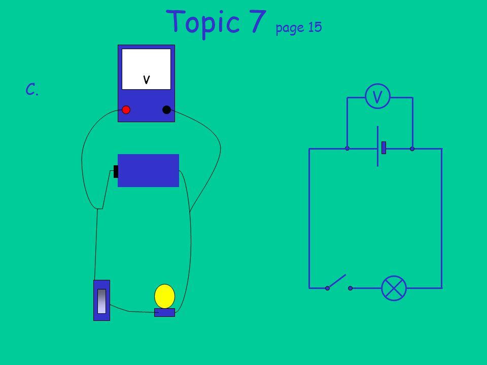 Topic 7 page 15 C. V V