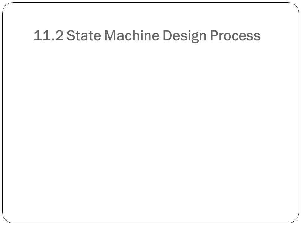 11.2 State Machine Design Process