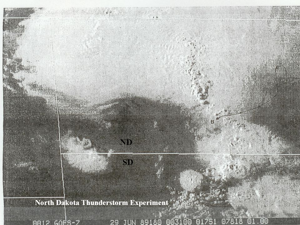 ND SD North Dakota Thunderstorm Experiment