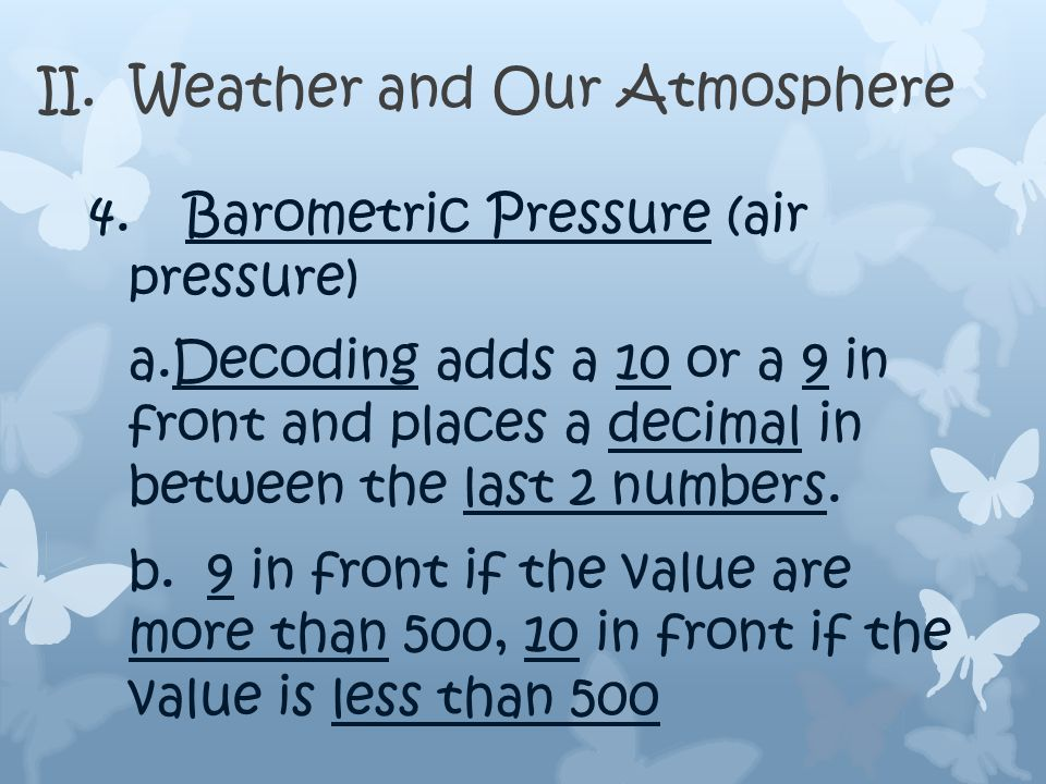 II. Weather and Our Atmosphere c. Knots to MPH 1.