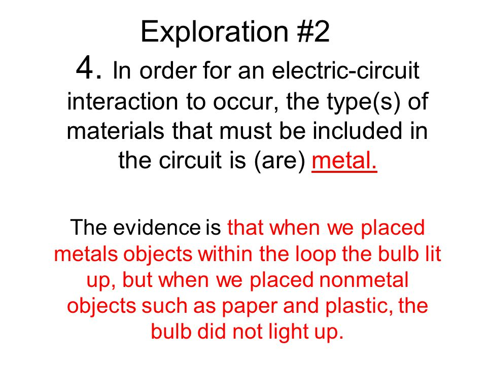 What are some variables that influence the electric-circuit interaction.