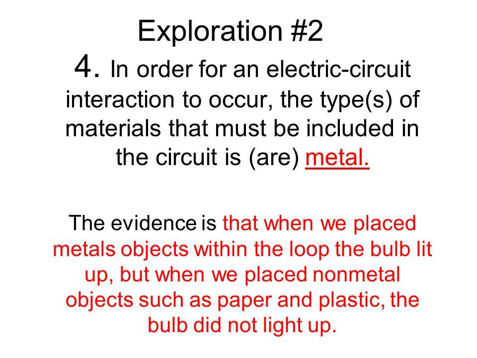 Exploration #2 4.