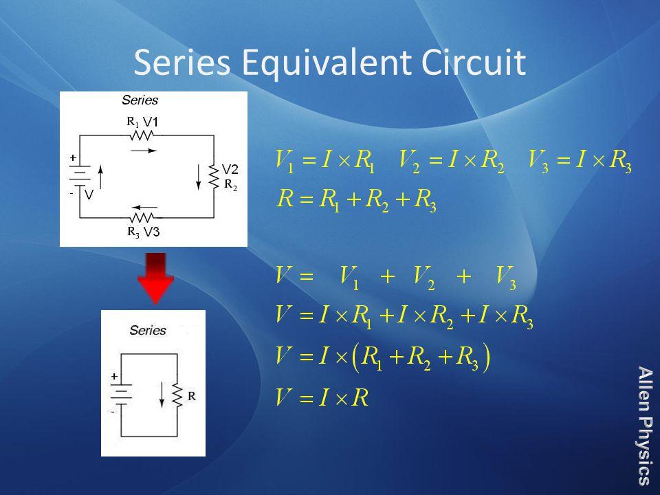 Series Equivalent Circuit