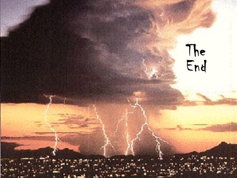 Thomas Oberst Cornell University The End
