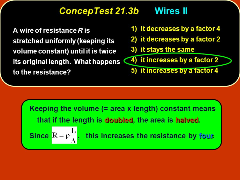 ConcepTest 21.16cCapacitors III ConcepTest 21.16c Capacitors III C 1 = 1.0  F C 3 = 1.0  F C 2 = 1.0  F 10 V 1) Q 1 = Q 2 2) Q 1 > Q 2 3) Q 1 < Q 2 4) all charges are zero How does the charge Q 1 on the first capacitor (C 1 ) compare to the charge Q 2 on the second capacitor (C 2 )?