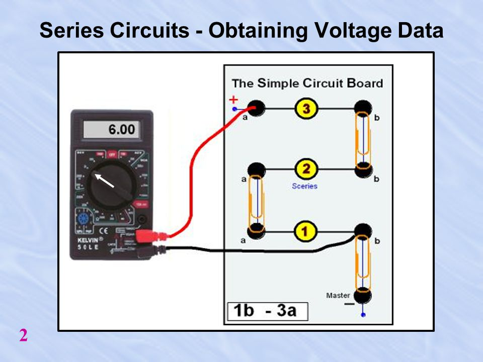 Series Circuit 3 1. Place Paperclips as Indicated.