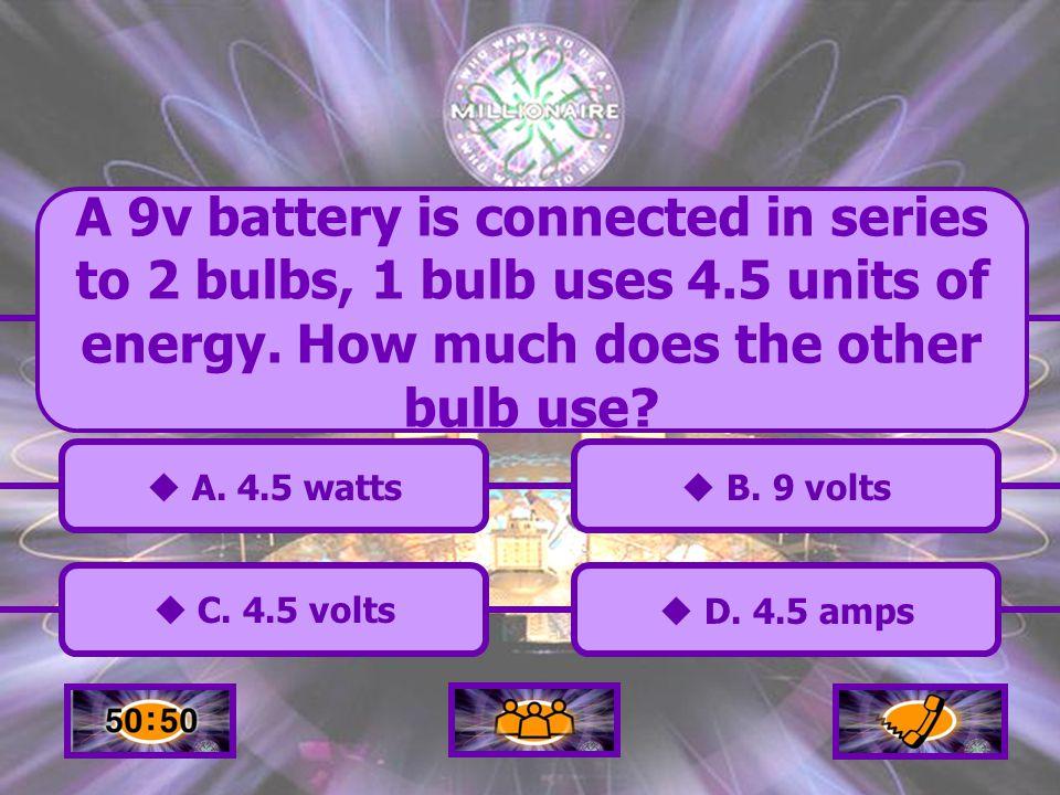 C.4.5 volts C.