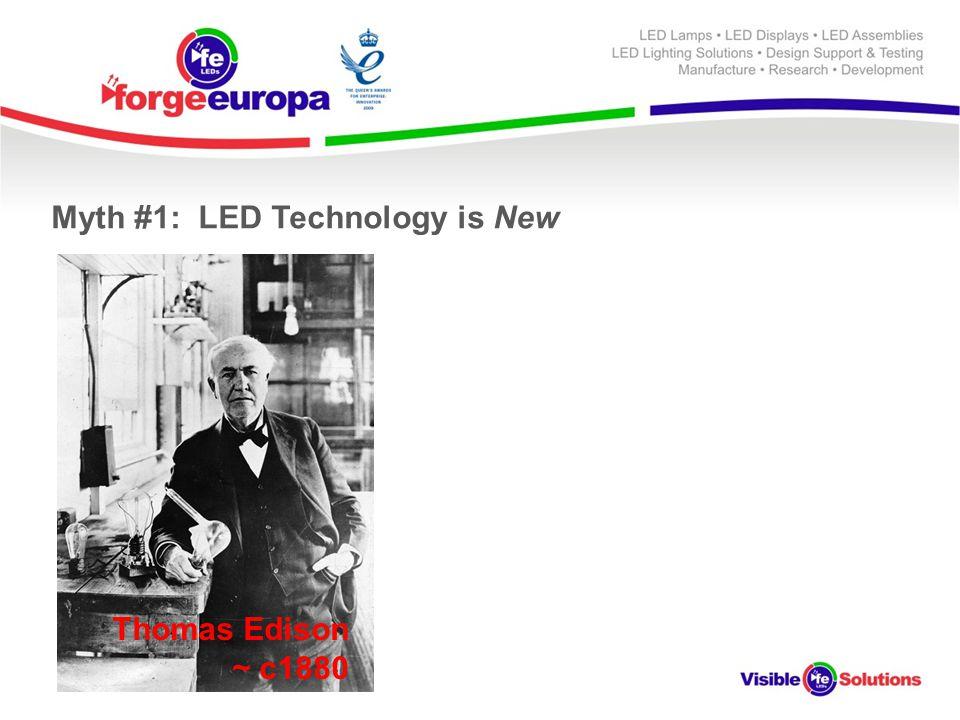 Thomas Edison ~ c1880