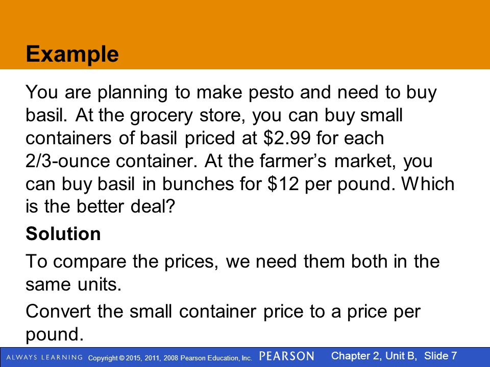 Copyright © 2015, 2011, 2008 Pearson Education, Inc.