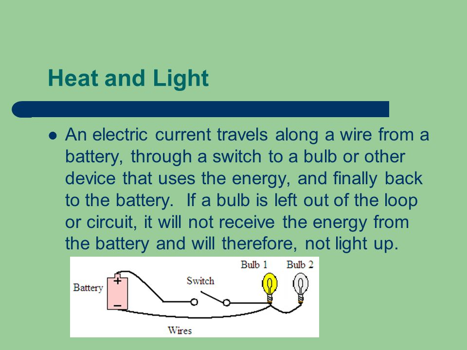Electrical Energy Electricity can be converted (or transformed) into other forms of energy.
