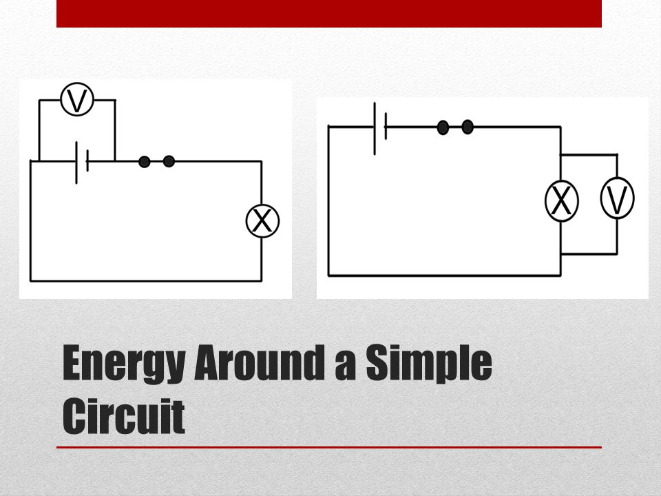 Energy Around a Simple Circuit