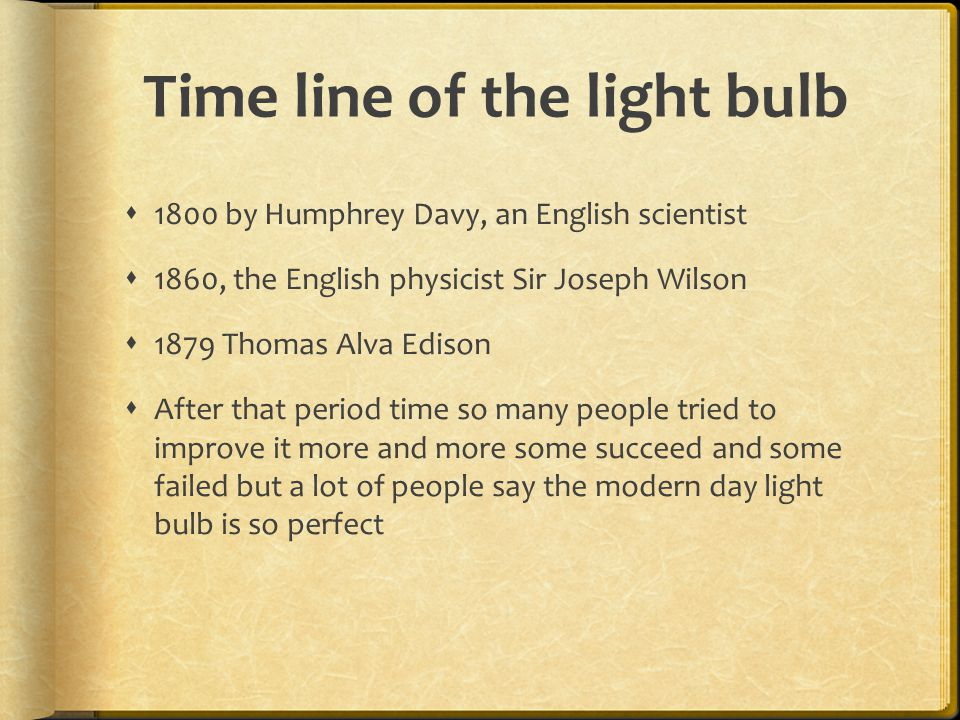 a look at humphrey davys invention of the light bulb