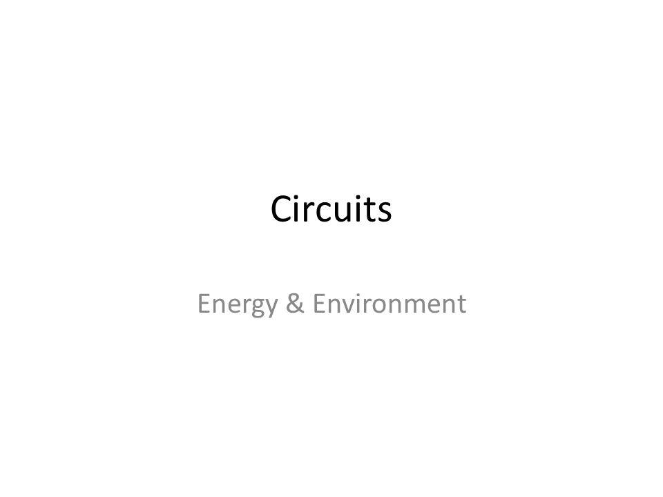Circuits Energy & Environment