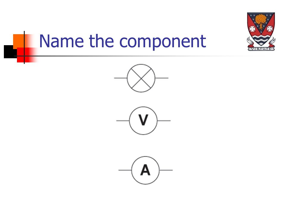 Name the component