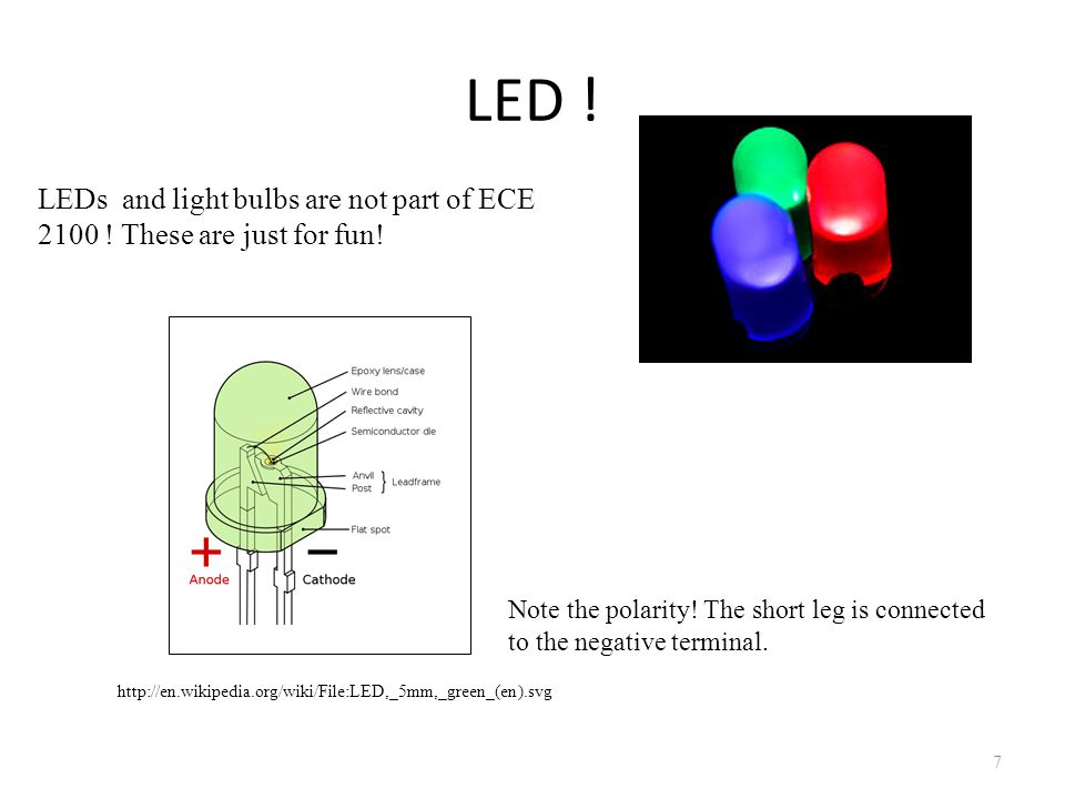 A Design Problem… 8 Assume your LED needs 10[mA] to turn on, and has a 0.7 [V] drop across it.