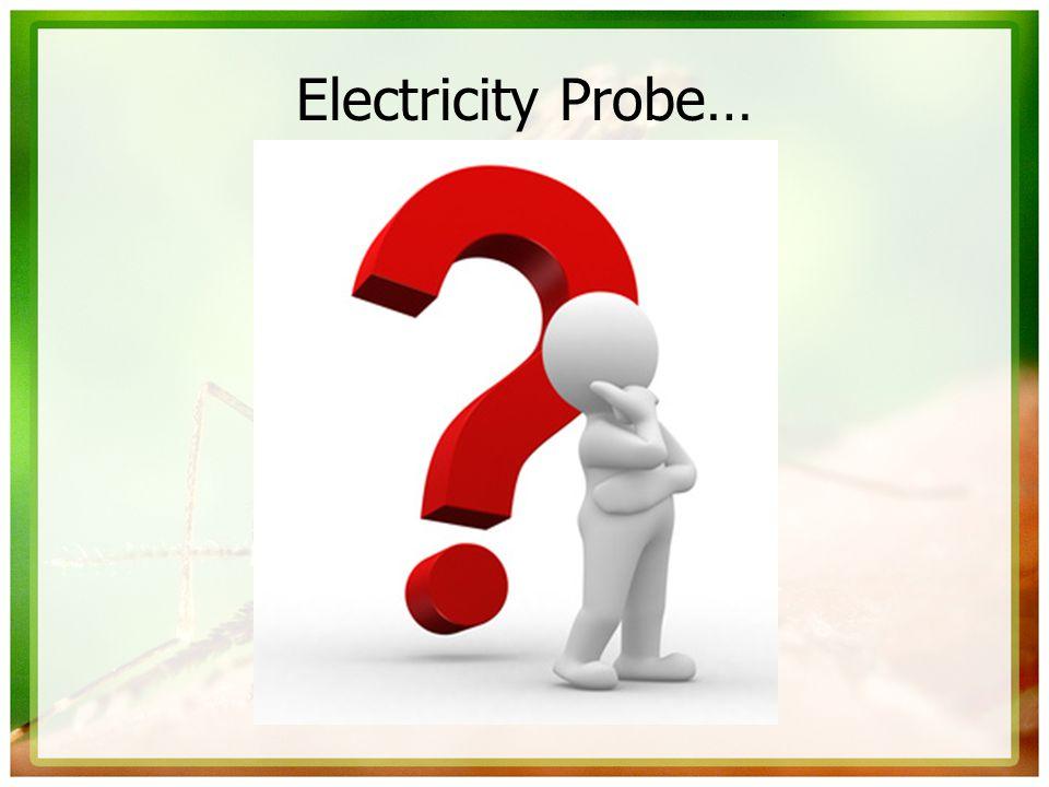 Electricity Probe…