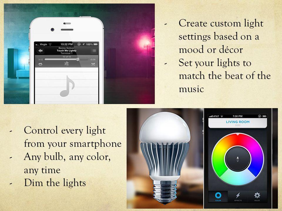 LIFX LED Light Bulb The future of light bulbs.