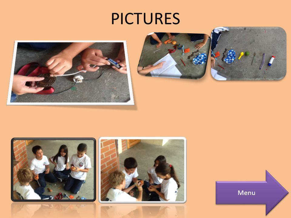 PICTURES Menu