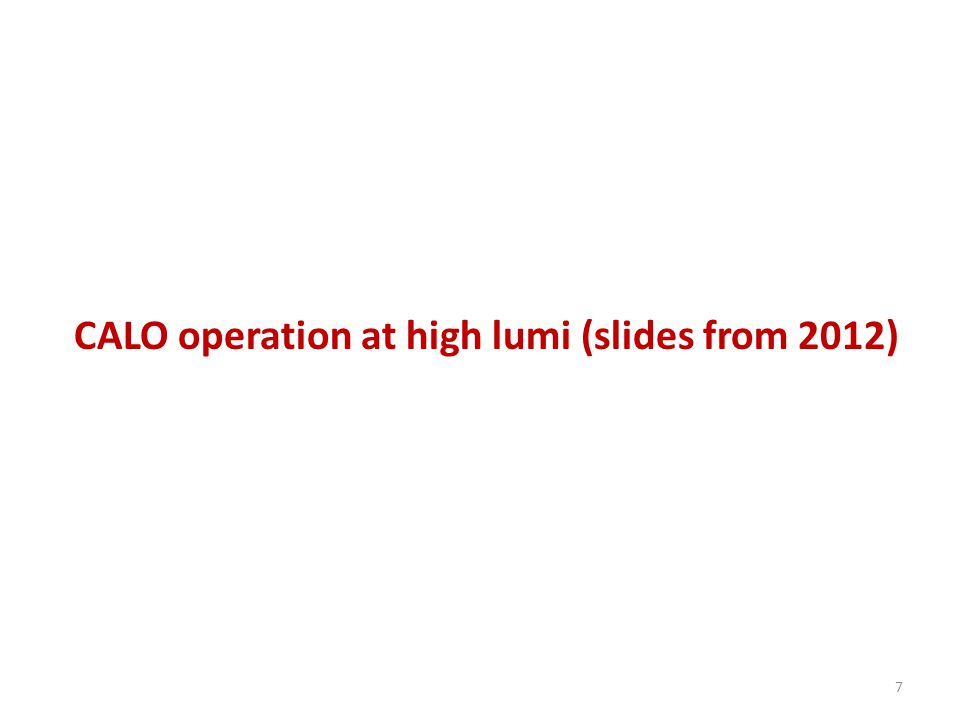82012-12-12Yu.Guz high lumi test HCAL PMT anode currents at 10 33.