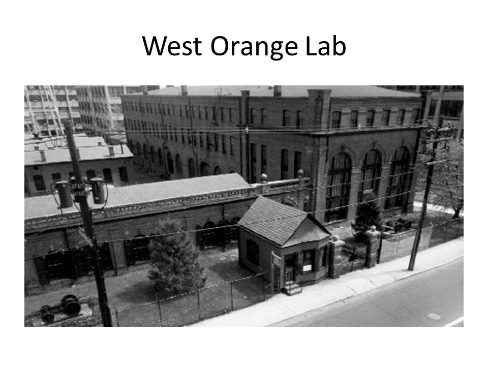 West Orange Lab