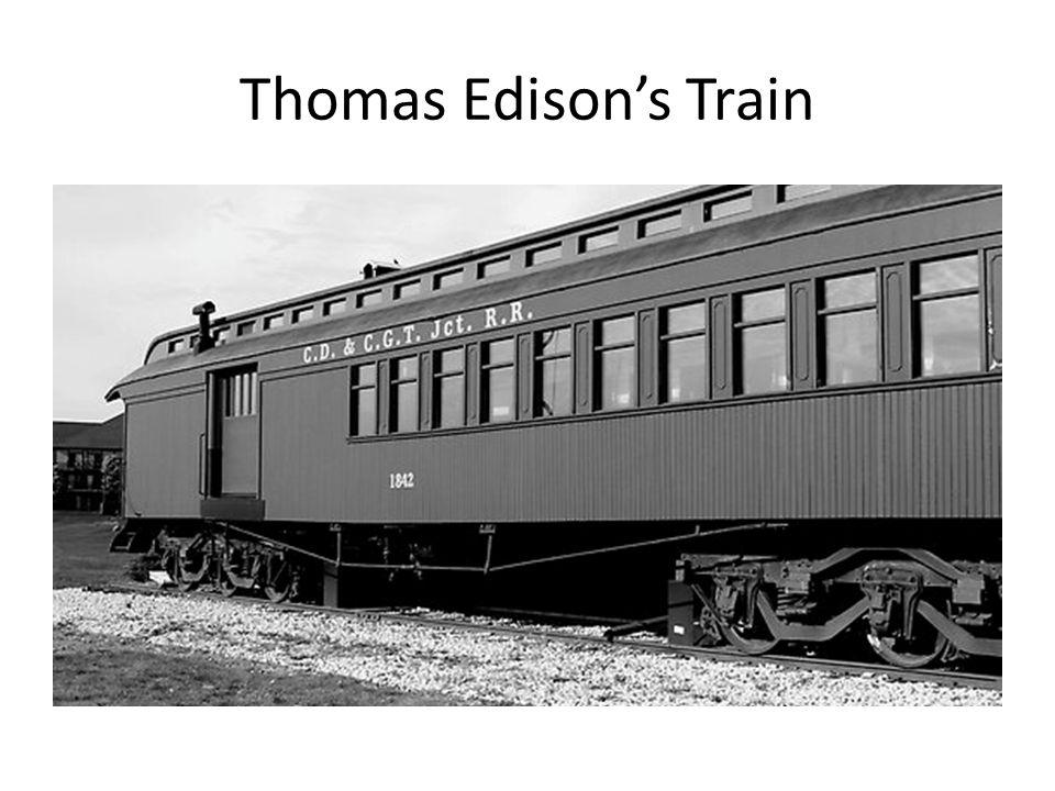 Thomas Edison's Train