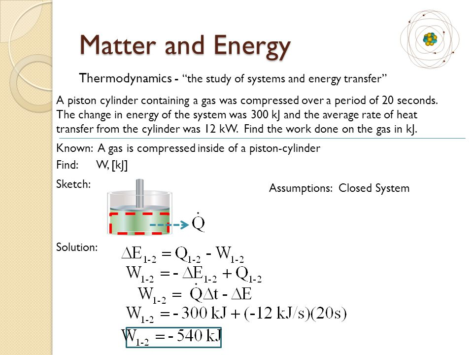 Matter and Energy A vertical piston-cylinder device (D = 5 cm) contains a trapped mixture of gases.