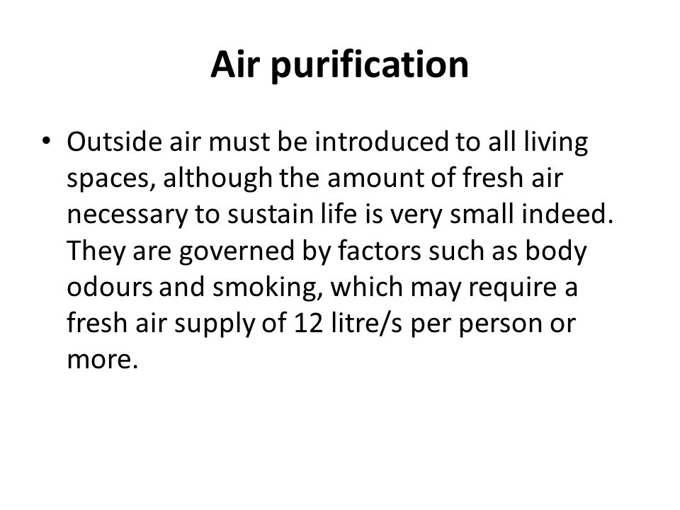 Air conditioning Air conditioning is the process of treating air so as to control simultaneously its temperature, humidity, cleanliness and distribution to meet the requirements of the conditioned space.