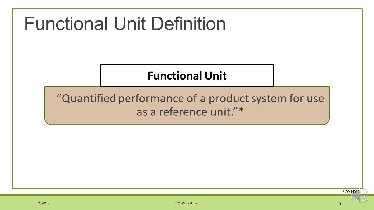 Function What the product(s) or process(es) is designed to do Often intuitive ◦However, function must be stated to make it unambiguous Important to he