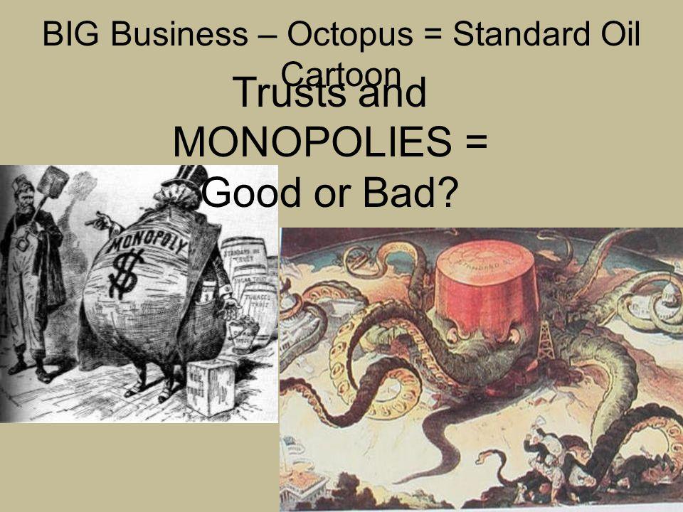 BIG Business – Rockefeller Cartoon