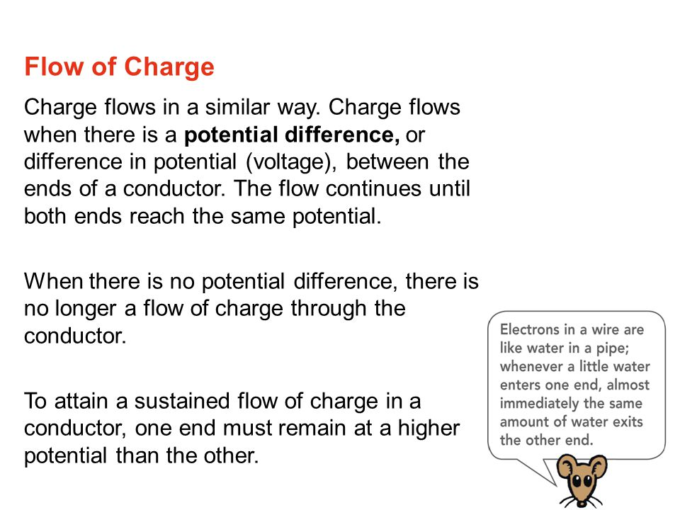 A current-carrying wire has a net electric charge of zero. Electric Current