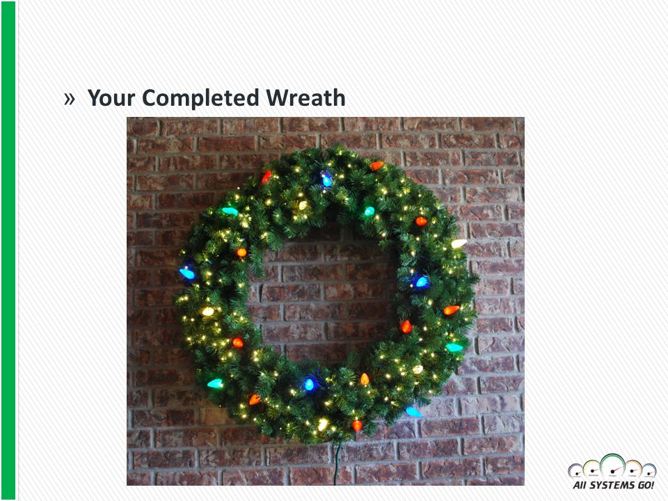 » Your Completed Wreath