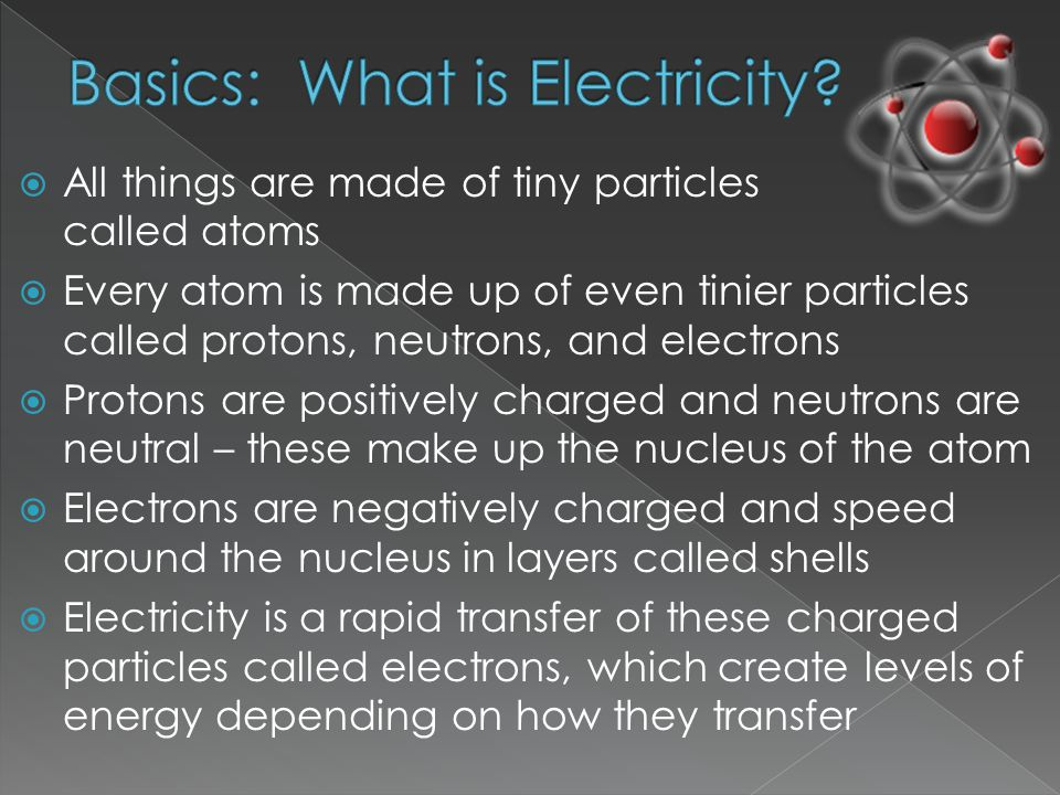  The bond that holds electrons in orbit is the weakest in the atom's outermost shells  A free-moving electron can bump into and knock electrons out of an atom's outermost shell  When an atom loses one or more of its electrons, the atom becomes positively charged or out of balance  If an atom gains free-moving electrons, it becomes negatively charged, and also out of balance  Out-of-balance atoms are called ions