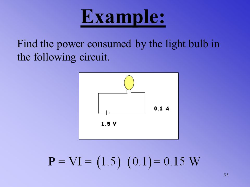 We can use unit analysis to put the equation for power in to a different form as well. Since Volts are J/C and Amps are C/s. Therefore: (P=VI) must al