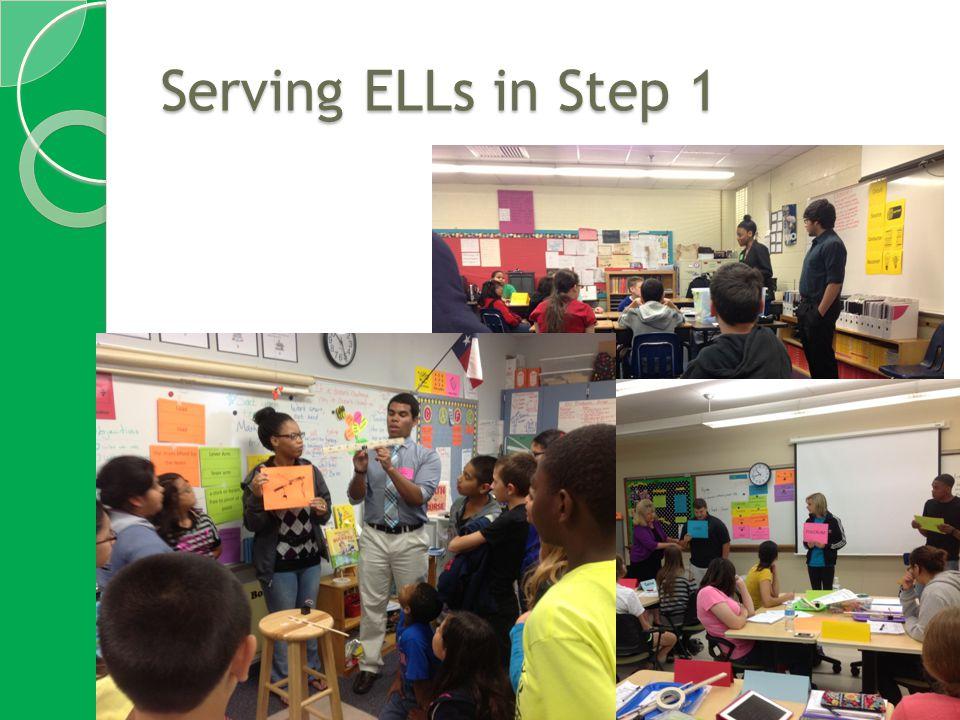 Serving ELLs in Step 1