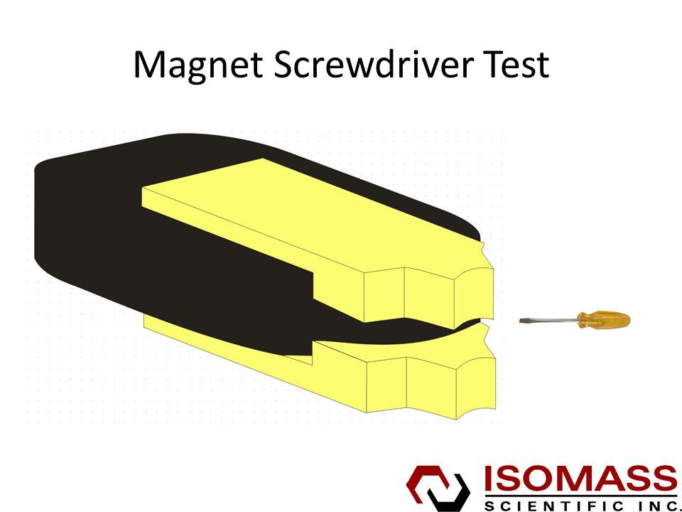 Magnet Screwdriver Test