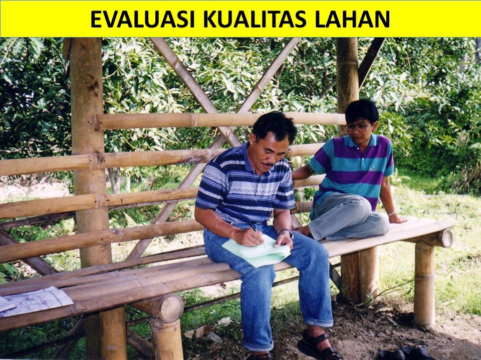 EVALUASI KUALITAS LAHAN