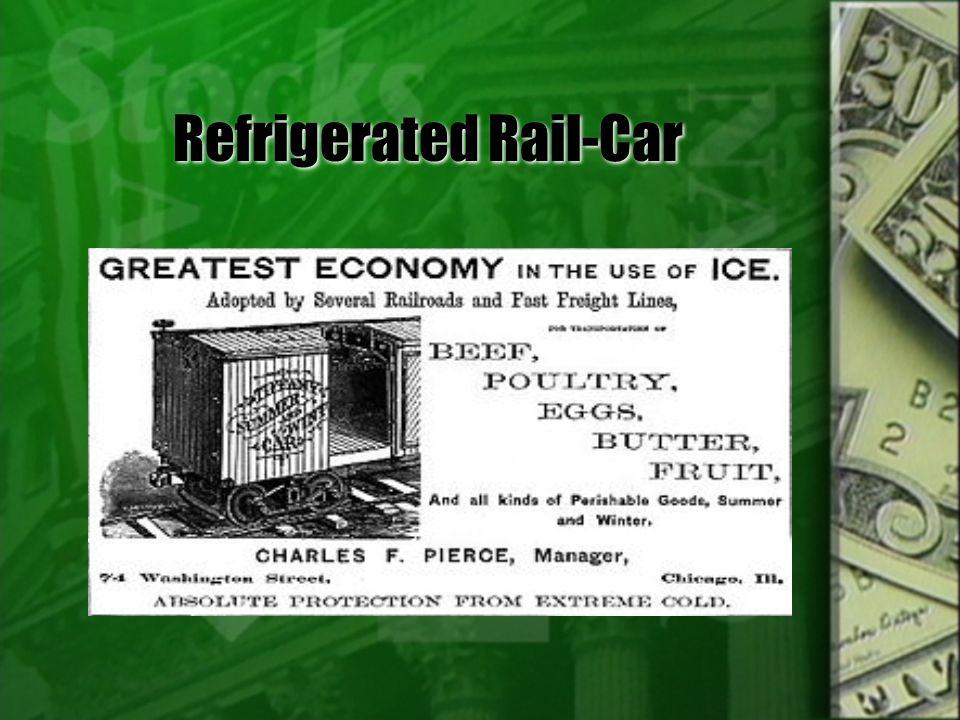 Refrigerated Rail-Car