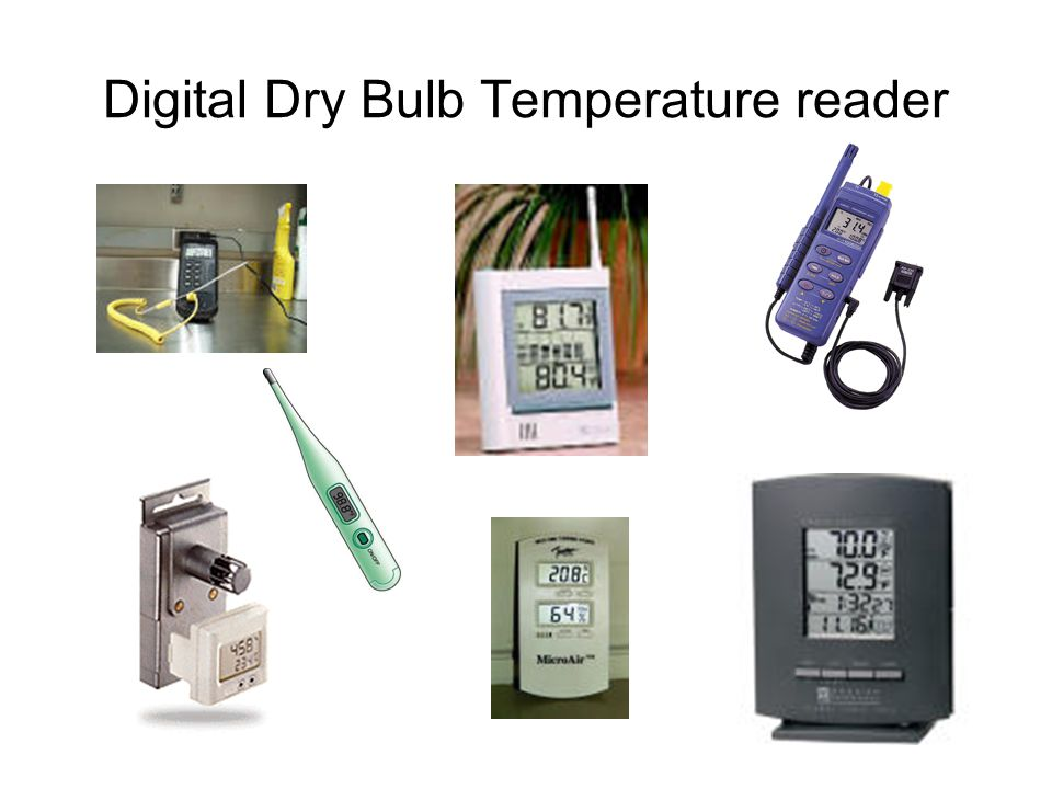 Digital Dry Bulb Temperature reader