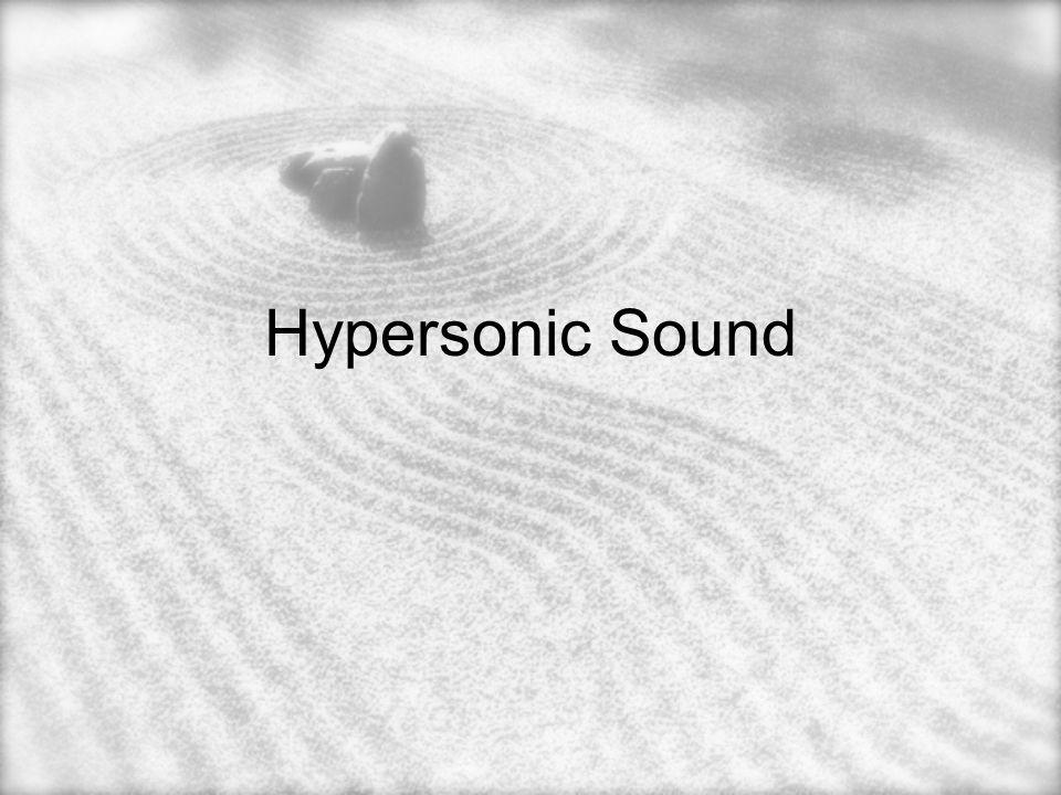 Hypersonic Sound