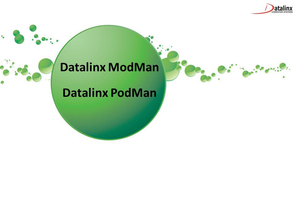 Datalinx ModMan Datalinx PodMan