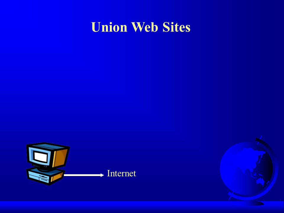 Union Web Sites Internet