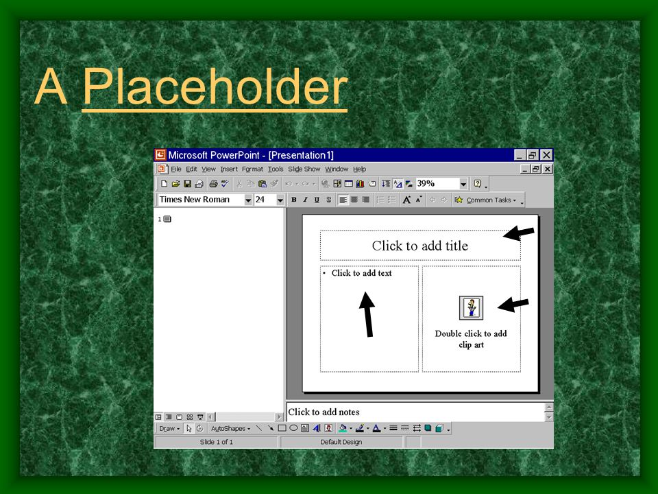 A Placeholder