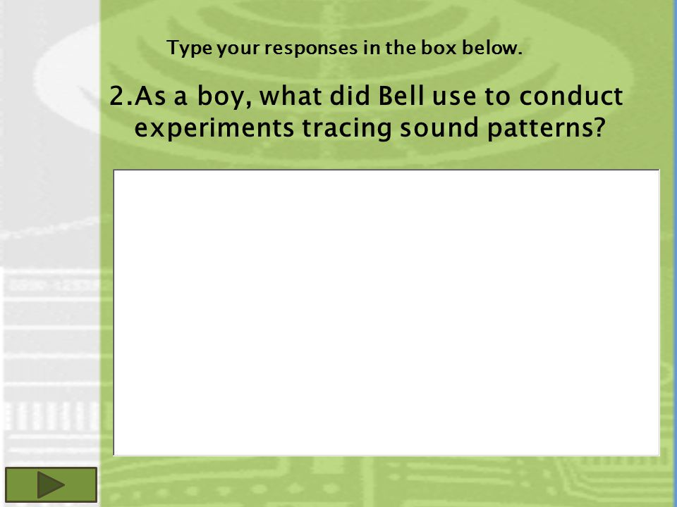 Type your responses in the box below.
